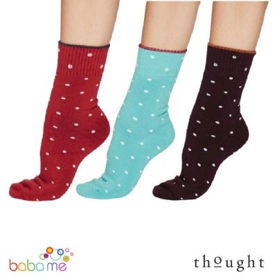Thought Walker Organic Cotton Spot Walker Bamboo Socks