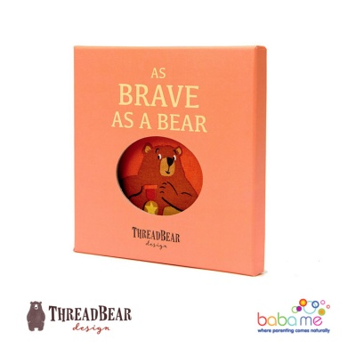 Threadbear Design Brave as a Bear Ragbook