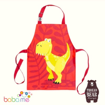 Threadbear Designs Dinosaur Apron
