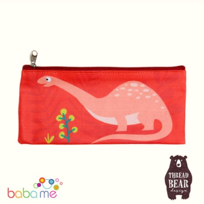 Threadbear Designs Dinosaur Pencil Case