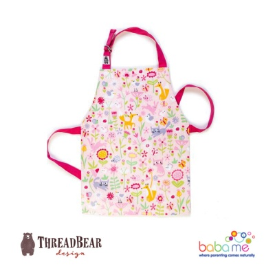 Threadbear Designs Flora's Garden Apron