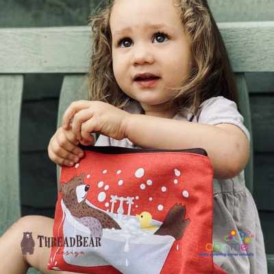 Threadbear Designs Fred's Wash Bag