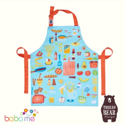 Threadbear Designs Let's Cook Cotton Apron