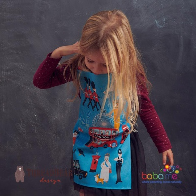 Threadbear Designs London Town Apron