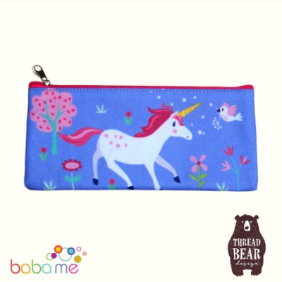 Threadbear Designs Lulu L'unicorn Pencil Case