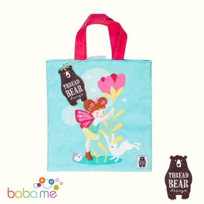 Threadbear Designs Trixie The Pixie Mini Tote Bag