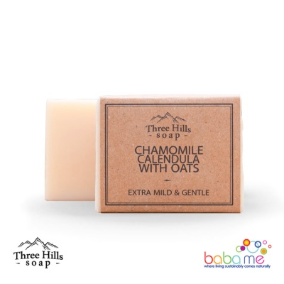 Three Hills Soap Chamomile Calendula With Oats Soap Unscented