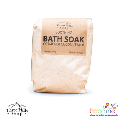 Three Hills Soap Colloidal Oatmeal Bath Soak Coconut Milk