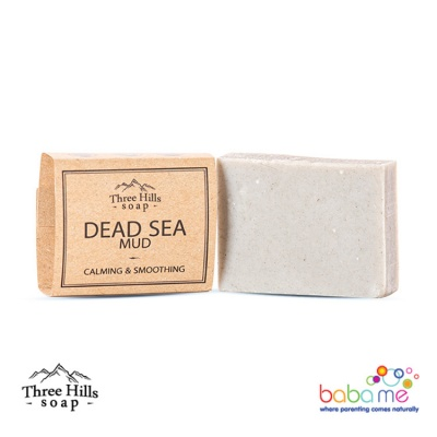 Three Hills Soap Dead Sea Mud Soap Unscented
