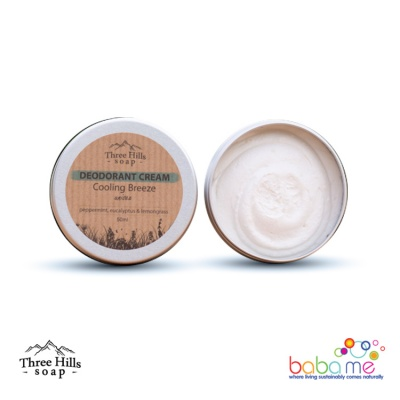 Three Hills Soap Deodorant Cream Cooling Breeze