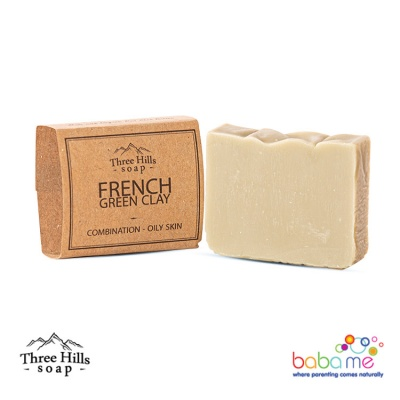 Three Hills Soap French Green Clay Soap Unscented