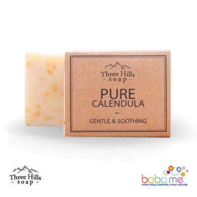 Three Hills Soap Pure Calendula Soap Unscented