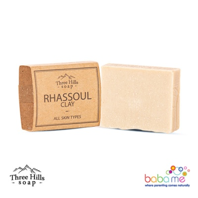 Three Hills Soap Rhassoul Clay Soap Unscented