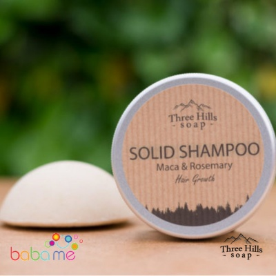 Three Hills Soap Solid Shampoo Maca For Hairgrowth