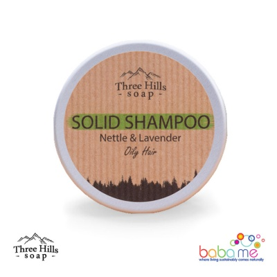 Three Hills Soap Solid Shampoo Nettle Oily Hair