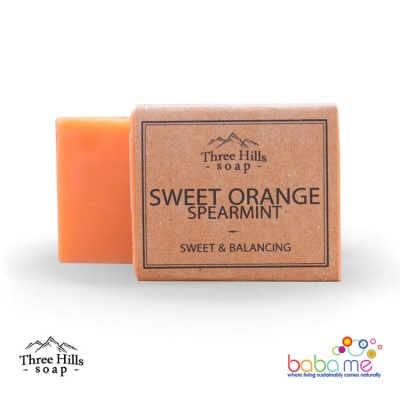 Three Hills Soap Sweet Orange Spearmint Soap