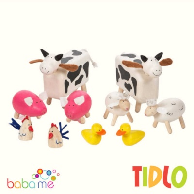 Tidlo FARM ANIMALS