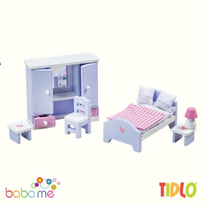 Tidlo Bedroom Dolls Furniture