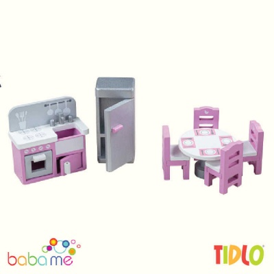 Tidlo Dolls Kitchen Doll House Furniture