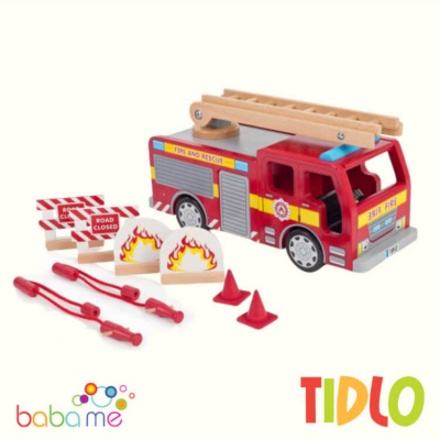 Tidlo Fire Engine Toy