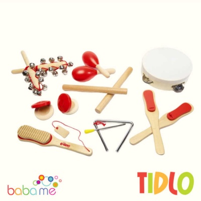 Tidlo Musical Instruments (Red)