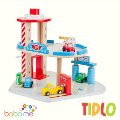 Tidlo Small World Toy Garage