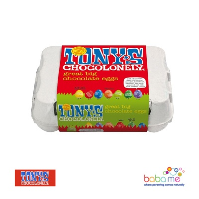 Tony's Chocolonely - Fairtrade Milk Easter Eggs Assortment