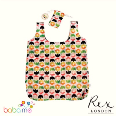 Tulip Bloom Foldaway Bag for Life