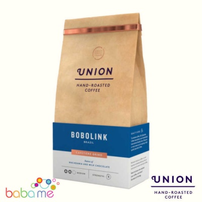 Union Brazilian Bobolink Ground Coffee (Strength 4)