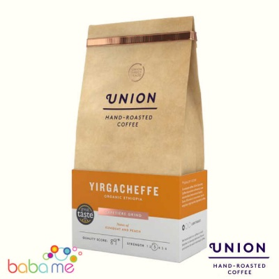Union Ethiopian Yirgacheffe Ground Coffee (Strength 3)