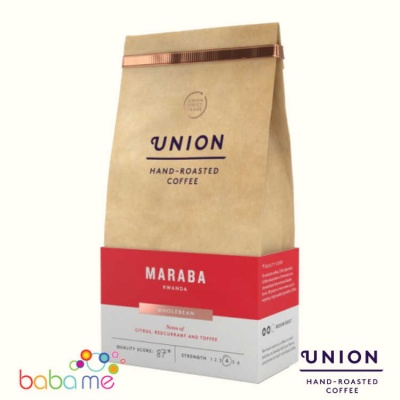 Union Rwanda Maraba Coffee Beans (Strength 4)