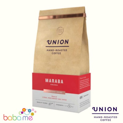 Union Rwanda Maraba Ground Coffee (Strength 4)