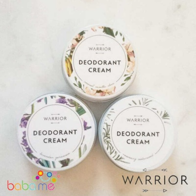 Warrior Botanicals - Natural Deodorant Cream