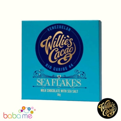 Willie's Cacao Sea Flakes 50g