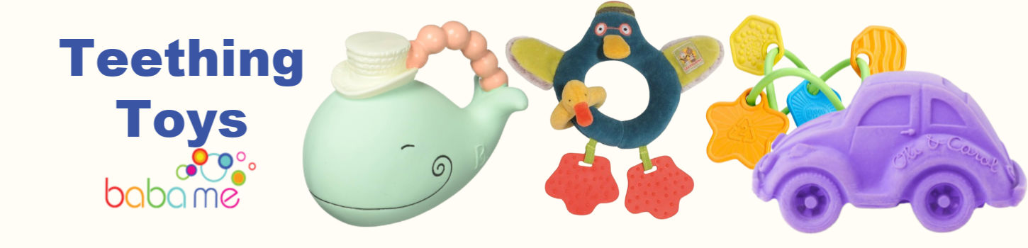 Choose Design First Steps Animal Baby Comforter with Teether /& Dummy Loop