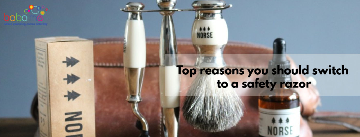 top reasons to switch to a safety razor